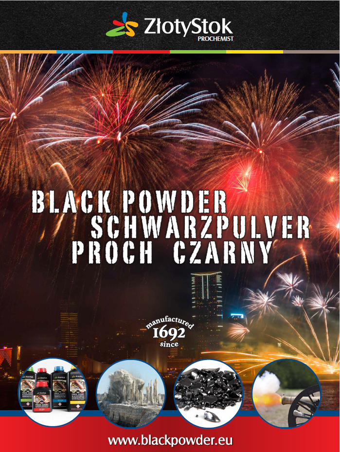 Black powder plakat
