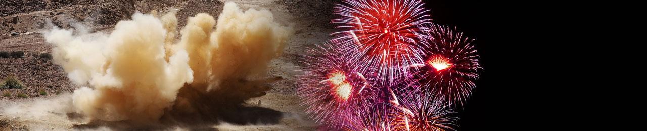 Materiały wybuchowe cywilne i dla wojska