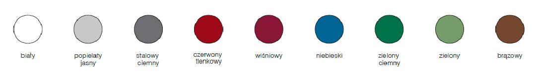 Miniowa Stowinyl kolory
