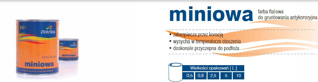 Miniowa