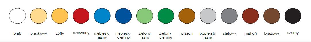 Unikor Emalin kolory